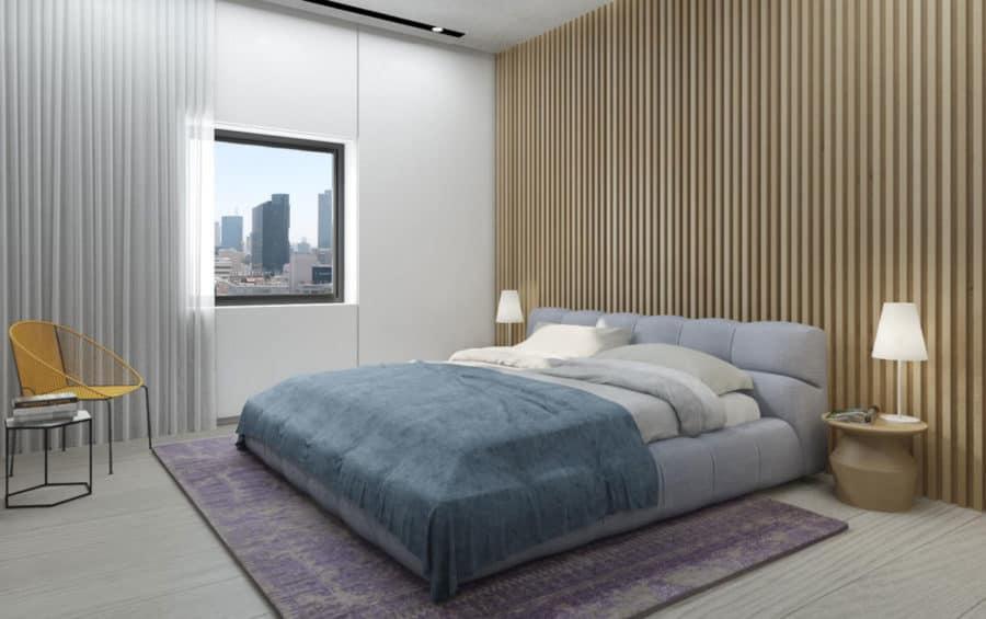 חדר שינה בעיצוב בוטיקי וייחודי